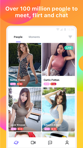Mico - Live Streaming, random voice & video chat Screenshot