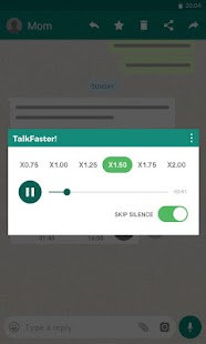 TalkFaster! Screenshot