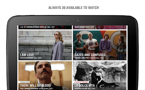 MUBI — Curated Cinema App Download For Android and iPhone 7