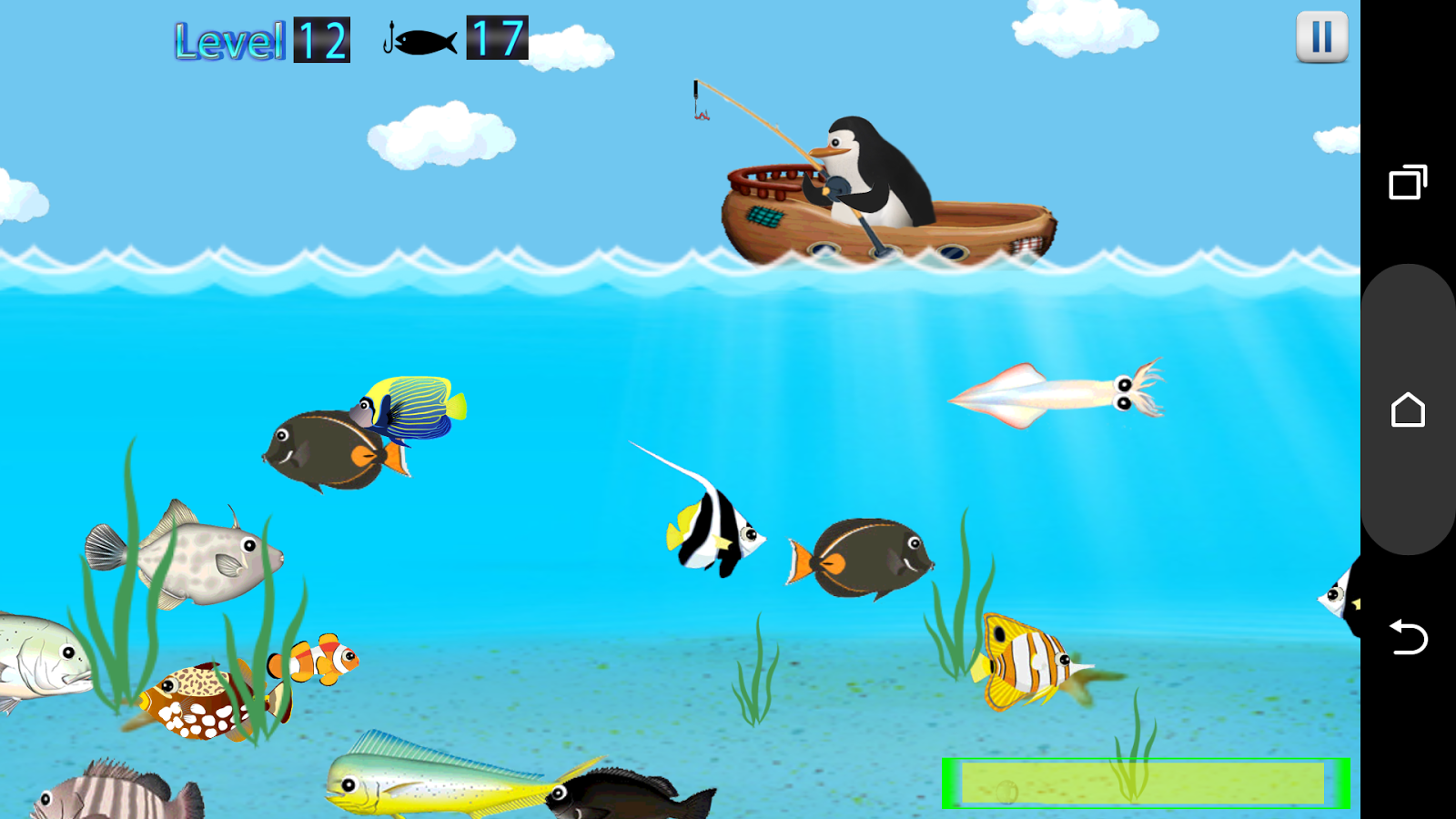 Penguin fishing android apps on google play for Fishing game android