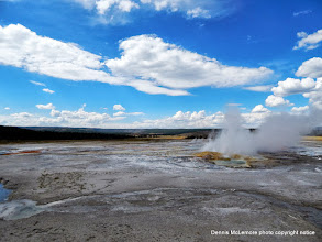 Photo: More geyser action