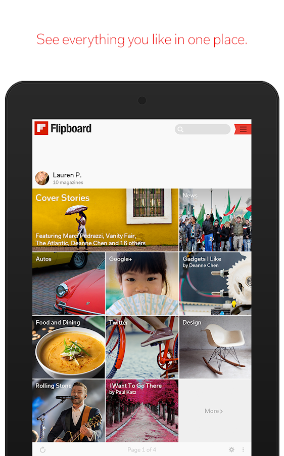 Flipboard: Your News Magazine- screenshot