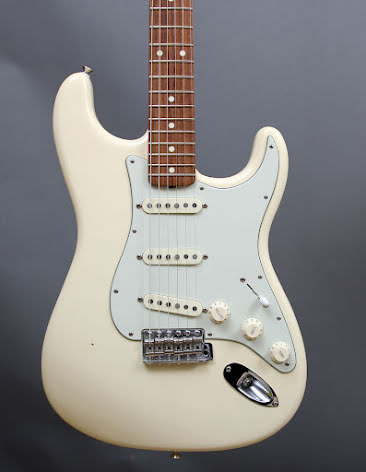 Fender Stratocaster John Mayer Signature Olympic White USED - Good Condition
