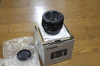 Canon 単焦点レンズ EF50mm F1.8 STM 写真1