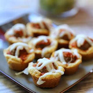 Mini Meatball Muffins