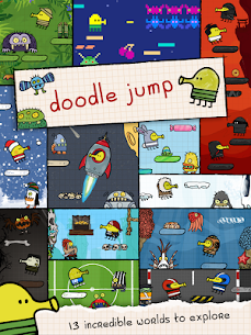 Doodle Jump Mod Unlimited Coins 10