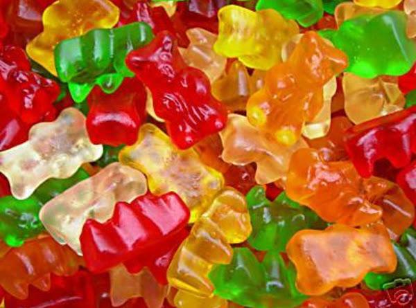 Adult Gummy Bears Recipe