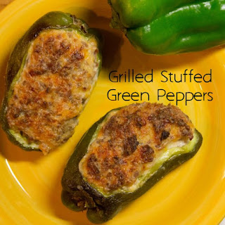 Grilled Stuffed Green Peppers.
