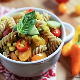 Go Go Tomago Pasta Salad