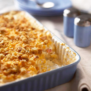 Chicken and Corn Hash-Brown Bake.