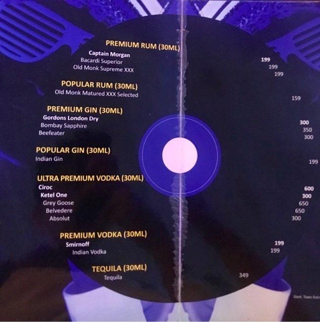 Blues menu 1