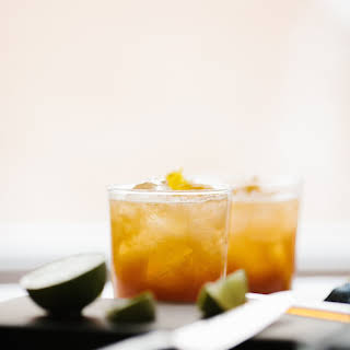 Ginger Peach Rum Punch.