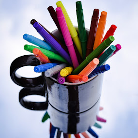 Colour My World by Wenn Maguddatu - Artistic Objects Education Objects