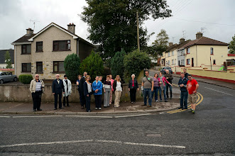 Photo: The various McMahons and offshoots, on the historic tour of Clones