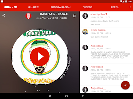 Screenshot of Coca-Cola FM Chile