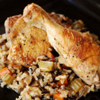 Chicken and Wild Rice Casserole.