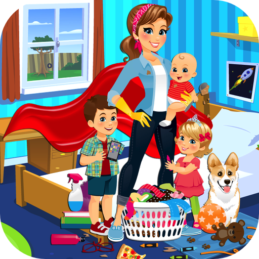 Super Mom: Chores, Errands & Housework with Mommy