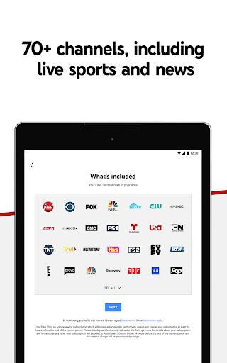 YouTube TV - Watch & Record Live TV 4.33.3 Screenshots 12