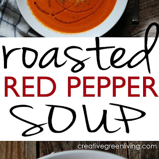 {Recipe} Easy Roasted Red Pepper Soup
