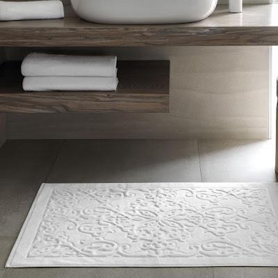 Коврик для ванной Togas Тира белый 80х160 см