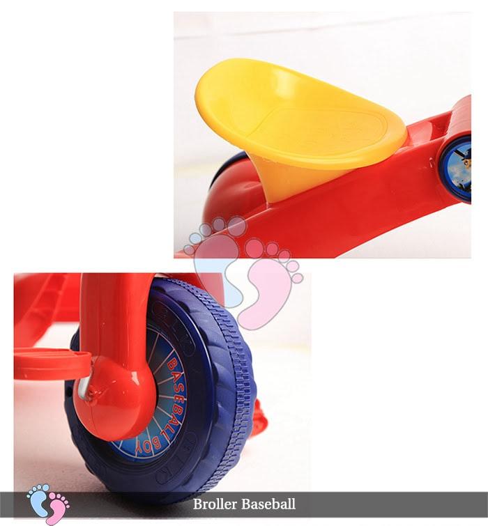Xe đạp ba bánh trẻ em Broller XD3 Baseball 11