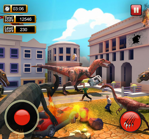 Monster Dinosaur Simulator: City Rampage screenshots 7