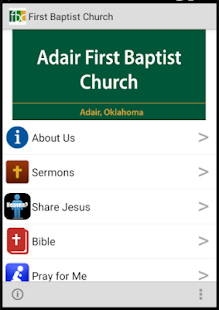 Adair First  Baptist Church- screenshot thumbnail