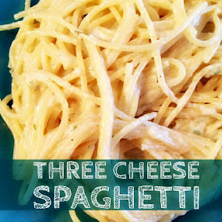 Three Cheese Spaghetti