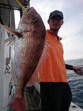 Photo: おおーっ、いいサイズの真鯛!