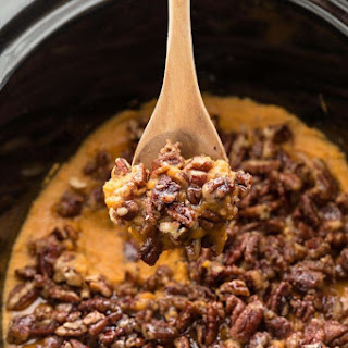 Slow Cooker Paleo Sweet Potato Casserole