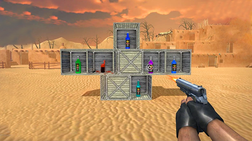 Capturas de pantalla de Bottle Shooting Master Game 3D 1