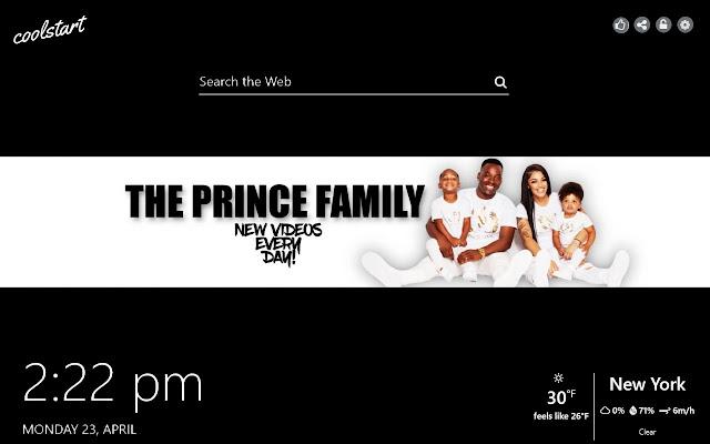 The Prince Family HD Wallpapers Social Tab
