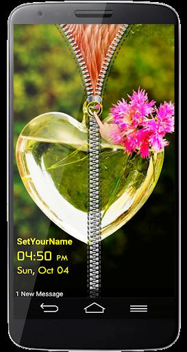 Glass Bouquet Screen Lock