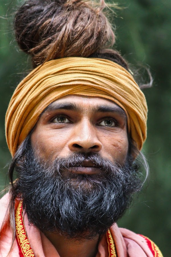 mens in wood by Mukesh Kumar - People Portraits of Men