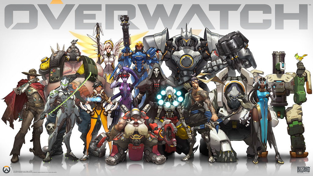 Overwatch game characters