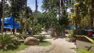 Padang Surf Camping em Itamambuca, Ubatuba 12