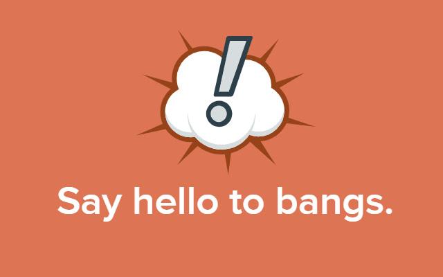 Google Bangs