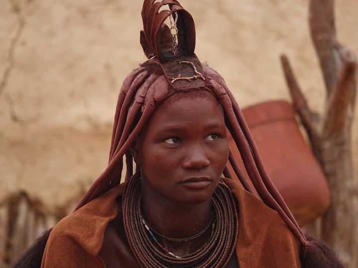 A Himba girl