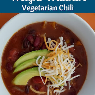 Vegetarian Weight Watchers Chili in Instant Pot.
