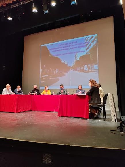 Concurso de ideas para la reordenación urbana del Paseo.