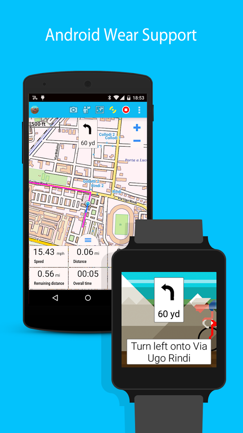 BikeComputer Pro Screenshot