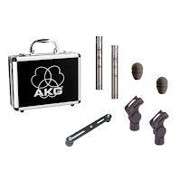 AKG C451B/ST, matchat stereopar C451B