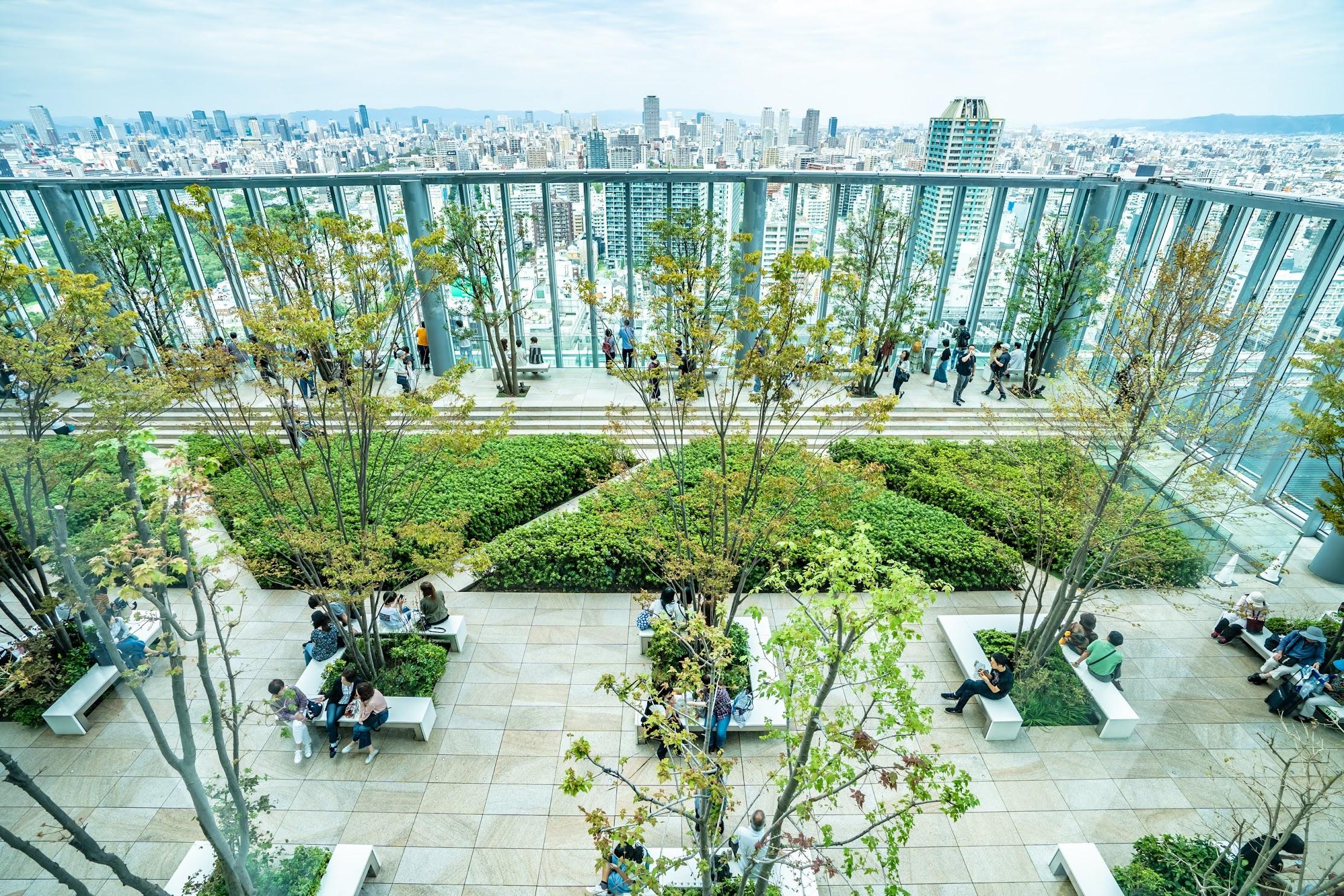Abeno Harukas roof garden5