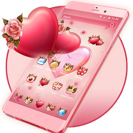 Flower Pink Love Theme