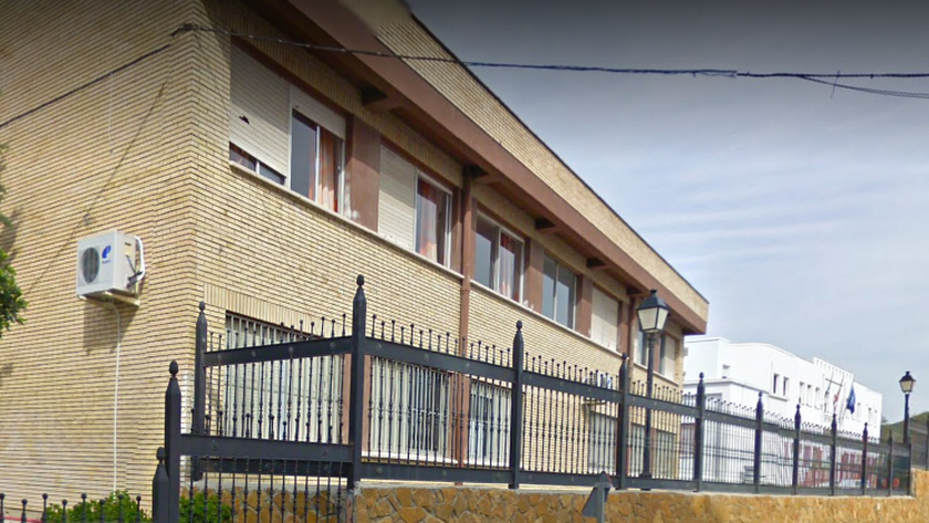 Colegio 'Cerro Castillo', en Cantoria.