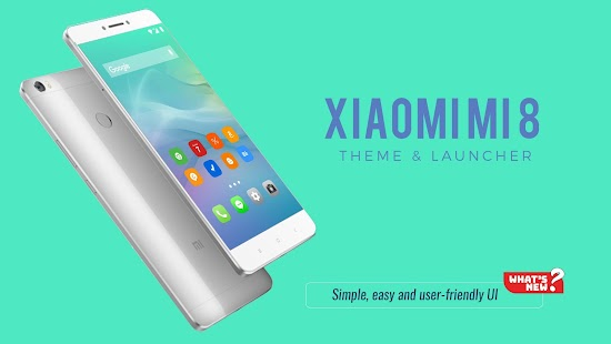 Theme for Xiaomi Mi 8 - náhled
