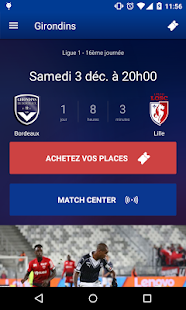 Girondins Officiel Capture d'écran