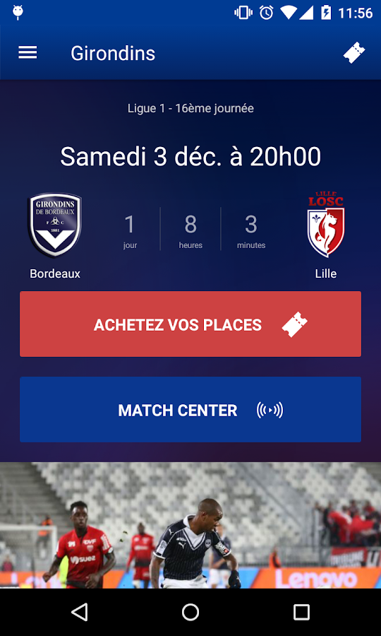 Girondins Officiel- screenshot