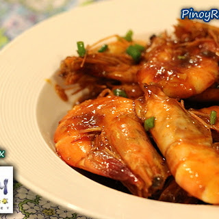 Filipino Sweet and Spicy Shrimp.