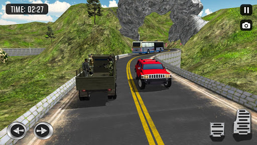 Off Road Army Truck Driving Game  screenshots 3